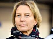 Martina Voss-Tecklenburg nimmt nach sechs Jahren Abschied aus de Schweiz (Bild: KEYSTONE/WALTER BIERI)