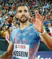 Kariem Hussein wird im Letzigrund Dritter. (Bild: Marc Schumacher/Freshfocus)