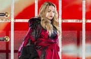 Tonnenweise CO2 statt Umweltengagement: Madonna nimmt lieber den Privatjet. (Bild: Bang Showbiz Entertainment)