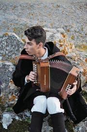 Musiker in Orgosolo im Inselinnern. (Bild: Urs Oskar Keller)