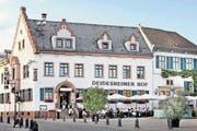Helmut Kohl führte seine ausländischen Staatsgäste jeweils in den «Deidesheimer Hof». (Bild PD)