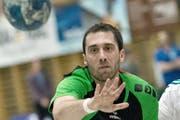 Boris Stankovic vm HC Kriens-Luzern. (Bild: Pius Amrein / Neue LZ)
