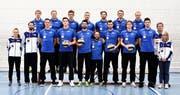 Das Team von Volley Luzern. (Bild: PD)