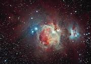 Der Orionnebel (Bild: V+Y Outednik)
