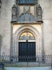 Die Thesentür an der Schlosskirche Wittenberg. (Bild: PD)