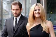 Michelle Hunziker und ihr Ehemann Tomaso Trussardi. (Bild: Bang Showbiz Entertainment)