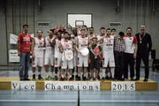 NLB-Vizemeister: Swiss Central Basket. (Bild: PD)