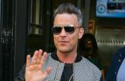 Robbie Williams: Ein Star, der hinter die Fassade des Stars zu blicken traut. (Bild Bangshowbiz)