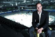 Sieht Parallelen zum letzten Jahr der Kloten-Flyers: EVZ-CEO Patrick Lengwiler. (Bild Werner Schelbert)