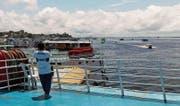 Auf dem Deck des Amazonas-Schiffs hat man den besten Ausblick. (Bild: Christopher Gilb)