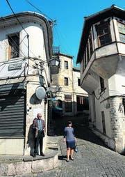 Altstadt von Gjirokastra – bedeutendes Beispiel städtischen Gesellschaftslebens auf dem Balkan in der osmanischen Zeit. (Bild: Silvia Bucher)