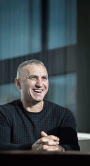 Bald Kriens-Trainer: Goran Perkovac. (Bild: Pius Amrein (Luzern, 23. November))