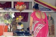 Im buddhistischen Tempel: Auf Mauritius leben die Religionen friedlich nebeneinander. (Bild: Karte oas)