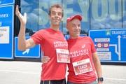 Das Chaos-Theater Oropax freut sich auf seinen Auftritt am Swiss City Marathon – Lucerne. (Bild: PD)