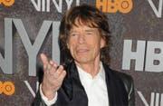 Mick Jagger war geschockt von der Baby-Nachricht. (Bild: bang)