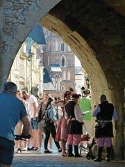 Die prächtige Altstadt ist ein Magnet. (Bild: Silvia Schaub)