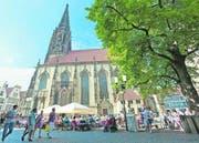 Nicht die grösste und höchste, aber die bekannteste der vielen Kirchen Münsters ist St. Lamberti. Der Turm ist jenem des Freiburger Münsters nachempfunden. (Bild: Ralf Emmerich)