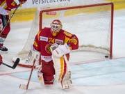 Bittere Niederlage für Langnau und dessen Goalie Ivars Punnenovs (Bild: KEYSTONE/MARCEL BIERI)