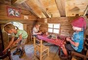 Auf dem Muggestutz-Weg können Kinder in Zwergenhütten spielen. (Bild: PD)