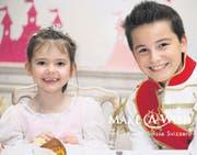 Céline träumte davon, mit Prinz Charming an ihrem Ball zu tanzen. (Bild: pd)