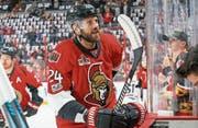 Nach diversen Stationen in der NHL folgt der EVZ: Viktor Stalberg im Dress der Ottawa Senators. (Bild: François Laplante/Getty (Ottawa, 6. Mai 2017))