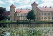 Im Schloss Rheinsberg verbrachte Preussenkönig Friedrich der Grosse seine Jugend. (Bild: Andreas Z'Graggen)
