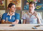 Martin und Daniel Hubmann im Gespräch mit der Ostschweiz am Sonntag. (Bild: Michel Canonica)