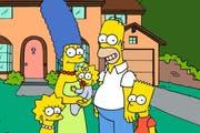 Achtung: Wer nicht wissen will, was mit Bart Simpson (rechts) passiert, sollte diesen Bericht nicht lesen. (Bild: Bang Showbiz Entertainment)