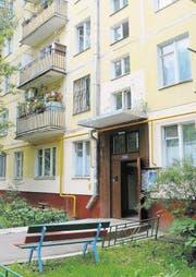 «Chruschtschowka» nennen die Russen diese Häuser – Plattenbauten aus den 60er- und 70er-Jahren. (Bild Julia Barandun)