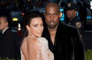 Kim Kardashian und Kanye West. (Bild: Janet Mayer (Splash News))