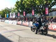 Immer auf dem Laufenden dank der mobilen Kamera auf dem Motorrad. (Bild: pd.)