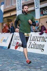 Zufrieden mit seinem Rennen: Renato Ulrich. (Bild: Philipp Schmidli)