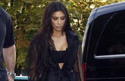 Reality-Star Kim Kardashian. (Bild: Bang Showbiz Entertainment)