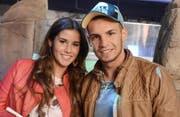 Haben einen gemeinsamen Sohn: Noch-Ehepaar Sarah und Pietro Lombardi. (Bild: Bang Showbiz Entertainment)