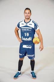 Severin Ramseier, Krienser Handballer: «Wir sind wieder eine starke Einheit, das spürte ich im Training.» (Bild: Benedikt Anderes)