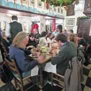 Typisch Westfalen: gutbürgerlich speisen im Alten Gasthaus Leve. (Bild: Ralf Emmerich)