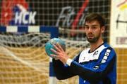 Auch der Goalie Andi Portmann trug seinen Teil zum Sieg bei. (Bild: Nadia Schärli / Neue LZ)