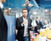 Führte die EVZ-Talente in die Playoffs: Academy-Coach Stefan Hedlund. (Bild: Stefan Kaiser (Zug, 29. Oktober 2017))