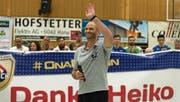 Bedankt sich bei seinen Fans für die schöne Zeit in Kriens: Trainer Heiko Grimm. (Bild: Roger Grütter (Kriens, 16. Dezember 2017))