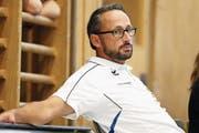 Nick Christen, CEO HC Kriens-Luzern: «Ich bin enorm enttäuscht.» (Bild: Philipp Schmidli/LZ)