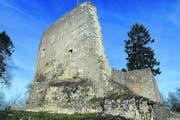Die Ruine der einst mächtigen Farnsburg, 1330 erbaut von einem Grafen der Familie Thierstein. (Bild Melchior Rudenz)