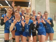 Die Frauen von Volley Luzern. (Bild: Oliver Dütschler)