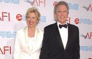 Warren Beatty und seine Ehefrau Annette Bening (Bild Bangshowbiz)