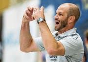 Heiko Grimm, Coach HC Kriens-Luzern. (Bild: Philipp Schmidli)