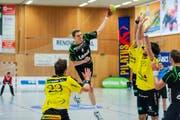 Der 18-jährige Krienser Yves Mühlebach (am Ball) erzielt sechs Tore: Hier reift ein Talent heran. (Bild: Roger Grütter)