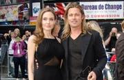 Ein Bild aus besseren Zeiten: Brad Pitt mit seiner Noch-Ehefrau Angelina Jolie.