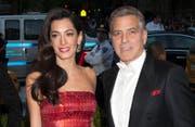 Amal und George Clooney. (Bild: bangshowbiz / Janet Mayer (Splash News))