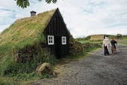 In Island gibt es alte Häuser, welche an den Seiten mit Torfblöcken isoliert sind. (Bild: Alexandra Gächter)