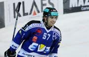 Fabian Schnyder hat beim EV Zug einen Vertrag bis 2015 unterschrieben. (Bild Stefan Kaiser/Neue ZZ)