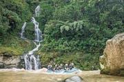 Der schönste Weg, um tief in den Dschungel zu kommen: Riverrafting auf dem Pacuare. (Bild: Joseph Khakshouri)